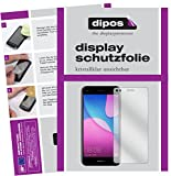Huawei Y6 Pro 2017 Schutzfolie - 2x dipos Displayschutzfolie Folie klar