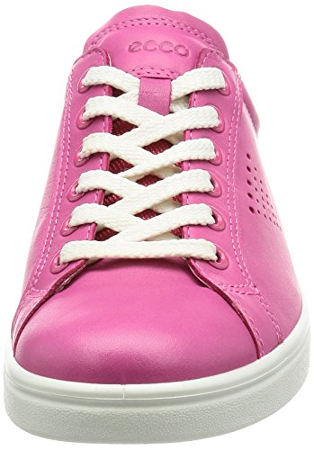 Ecco Damen Soft 4 Sneaker Pink (50522BEETROOT/WHITE)