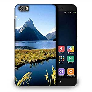 Snoogg Abstract Water And Mountain Designer Protective Phone Back Case Cover For Samsung Galaxy J1