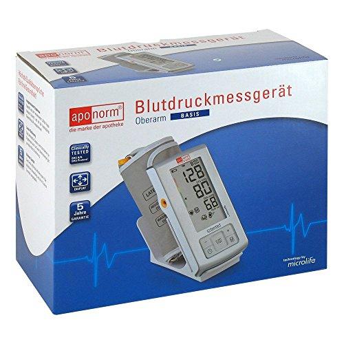 Aponorm Blutdruck Messgerät Basis Oberarm 1 stk
