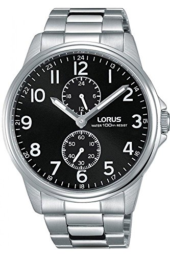 Lorus Reloj Analógico para Hombre de Cuarzo con Correa en Acero Inoxidable R3A01AX9