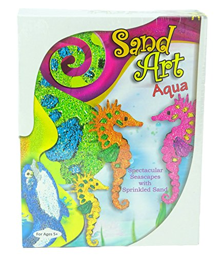 Sand Art Aqua - Unter dem Meer & Sealife Sand Art Kit
