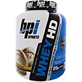 BPI Sports Whey HD 50 Servings Importer Label SSNC (VANILA CARAMEL)