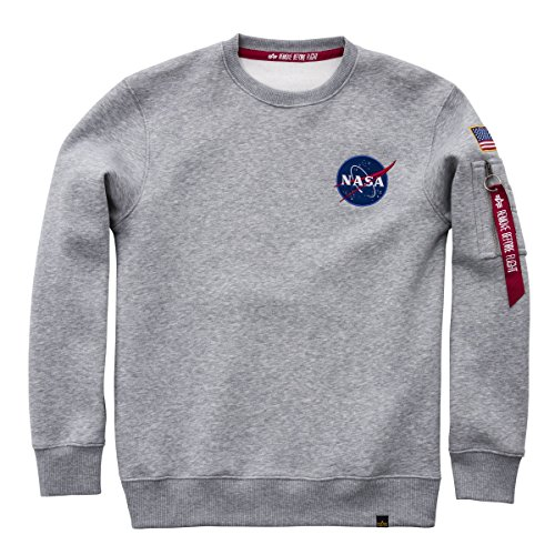 Alpha Industries Space Shuttle Sweater grey hthr