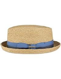 Stetson Cappello Rafia Laverne Diamond sole cappelli spiaggia fedora 488a226d7702