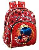 Safta Mochila Infantil Ladybug 'Sparkle' Oficial 280x100x340mm