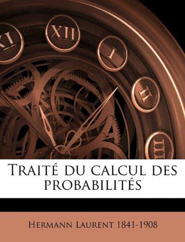 Traité du calcul des probabilités