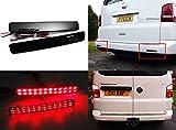 LED-Bremslichter für die hintere Stoßstange, schwarzes Rauchglas, 2 Stück