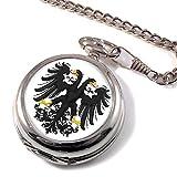 heraldisch Reichsadler volle SPRUNGDECKEL TASCHENUHR