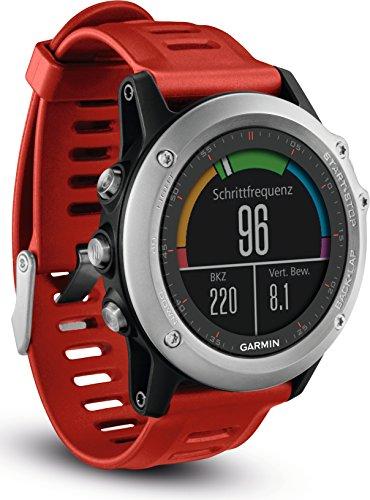 fenix 3 performer bundle Garmin fenix 3 GPS-Multisportuhr, Smartwatch-, Navigations- und Sportfunktionen, GPS/GLONASS, 1,2 Zoll (3 cm) Farbdisplay, 010-01338-06
