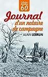Journal d'un notaire de campagne par Lebrun (II)