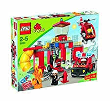 Buy 5601 Duplo Fire Station Lego Toys On The Store Auctions