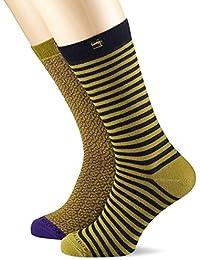 Scotch & Soda Colourful Socks, Chaussettes Homme, (lot de 2)