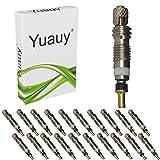 Yuauy 20pcs lote de Presta no tubo de la válvula Core cobre accesorio Universal Repuesto