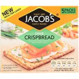 Jacob's Chive Crispbread, 190g, 5 x 4 Crispbreads