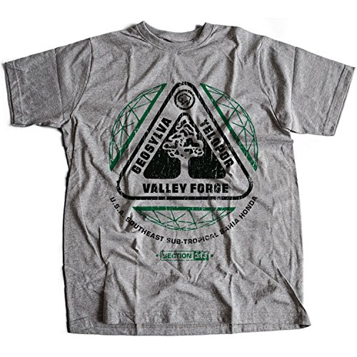 Flamentina 9397g Valley Forge Hombres T-Shirt HAL 9000 Space 2010 2061 Clavius Base Computer Sal Lunar Moon Odyssey(Medium,Sportsgrey)