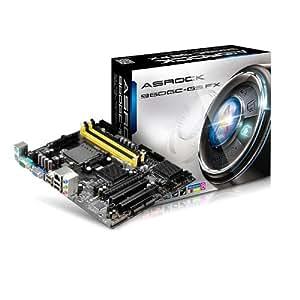 ASRock 960GC-GS FX Motherboard - Micro ATX, AMD 760G, Sockets AM2+ / AM3+