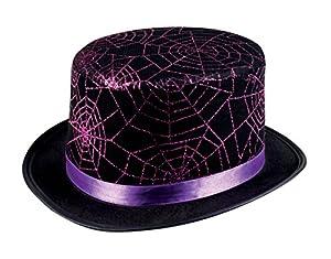 Boland 00806Sombrero Glitter araña Web Otros Juguetes