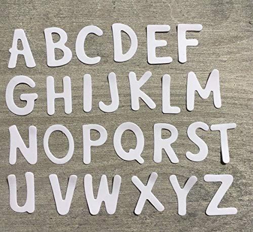 Simplelettering Stanzschablone/Cutting Dies Alphabet Buchstaben ABC verspielt 2 cm für Big Shot -