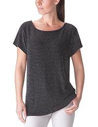 American Retro Bella - T-Shirt - Droit - Rayé - Femme