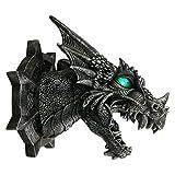 Dark Dreams Gothic Mittelalter Fantasy Deko Drachenfigur Drachenlampe LED Farbwechsler Dragonlight Wandfigur Geschenkidee