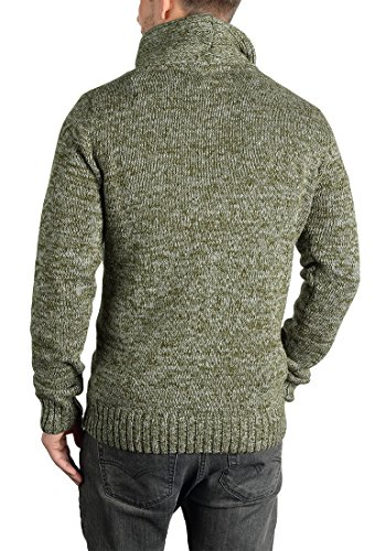 SOLID Prentice - Pull en Maille- Homme Ivy Green (3797)