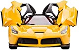 #9: Saffire Remote Controlled Super Car with Opening Doors, Yellow