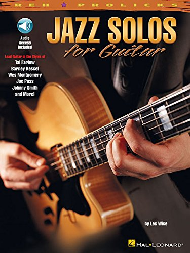 Jazz Solos for Guitar (REH Pro Licks)