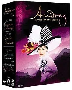 Best of Audrey Hepburn : My fair lady + Diamants sur canapé + Vacances romaines + Drôle de frimousse - coffret 4 DVD