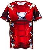 Under Armour Herren T-Shirt Iron Man Suit SS XL granatrot