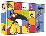 Le Loup qui voulait être un super-héros - Coffret livre (petit format) + 2 figurines
