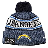 New Era NFL Sideline Bobble Knit 2018/2019 Season Beanie (Los Angeles Chargers)