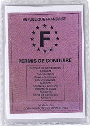 Exacompta 5391E–Housse PVC pour nouveau permis de conduire français