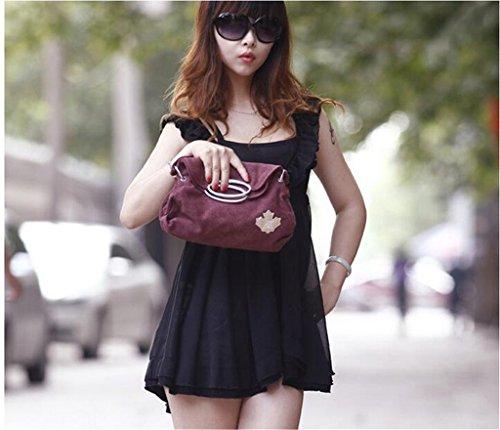 Auspicious beginning Korean neue Knödel Typ Multifunktions kleine lila Handtasche Lila