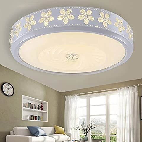 TIANLIANG04 Ceiling Lights Led Lamps Bedroom Ceiling Light Lamp Lights Circle In The Living Room Restaurant Lounge Light Kitchen Dining Room Lights Off ,78Cm Hyun No Polarity Dimming Arrestor (Remote Control)