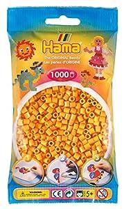 Hama 207-60 Tube Bead Marrón 1000 Pieza(s) - Abalorios (Tube Bead, Marrón, 1000 Pieza(s), Bolsa de plástico)