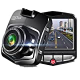 Dash Cam Full HD 1080P Car DVR,Built In G-Sensor,Parking Monitor,Motion Detection,Loop Recording (Black)