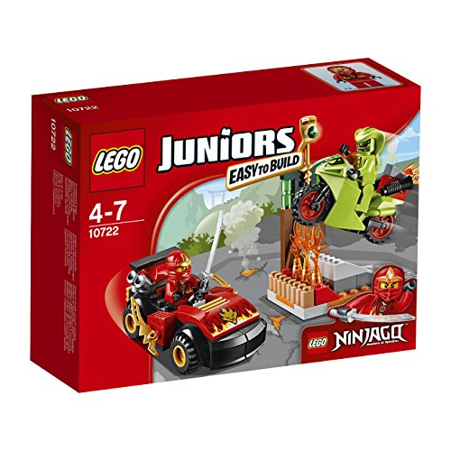 LEGO - 10722 - Juniors - Jeu de Construction - L'attaque du Serpent NINJAGO