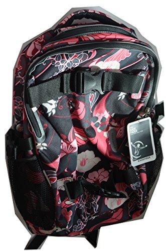 Chiemsee Rucksack PLUS MINUS Travelpack Black CS Flower Style Back Packs Rucksack Schulrucksack NEU!