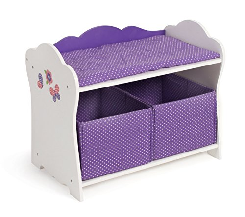 Bayer Chic 2000 505 92 - Puppen-Wickelkommode Papilio, purple