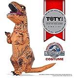 T-Rex Kostüm aufblasbare Jurassic Welt für Kinder - 5