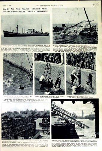 1950 BRITEN VERSENDEN INDISCHEN UNTERNEHMENS-STEG LONDON