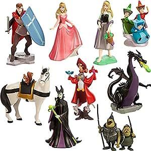 Coffret Disney Deluxe Aurore. La Belle au bois dormant - 9 figurines