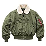 Alpha Industries B 15 Jacke Oliv L