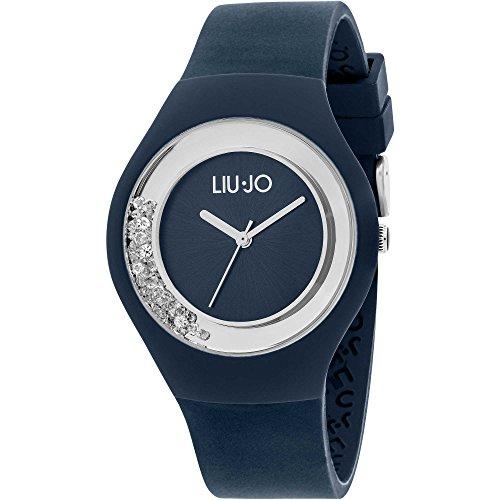 a1884ce249 Liu Jo Reloj mujer Dispaly analógico de cuarzo con correa de silicona azul  – tlj1335