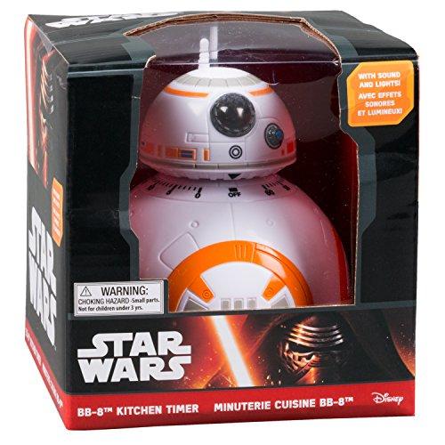 51RcErG5YsL. SS500  - Star wars Epvii: SW02722 Kitchen Timer: Bb-8 (Light And Sound), Orange/white