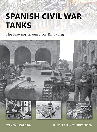 Spanish Civil War Tanks: The Proving Ground for Blitzkrieg (New Vanguard, Band 170)