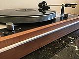 Hudson Hi-Fi acrilico perspex tappetino giradischi LP Slipmat, Black