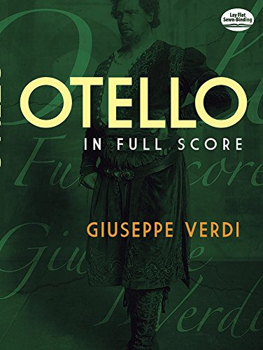 Otello (Full Score): Partitur (Dover Vocal Scores)