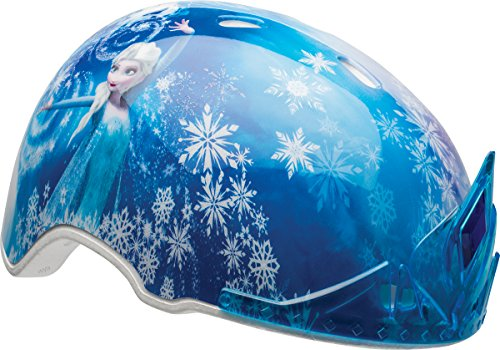 Bell Kinder Frozen Child MS 3D ELSA Tiara Helmet, Multi-Coloured, 50-54 cm